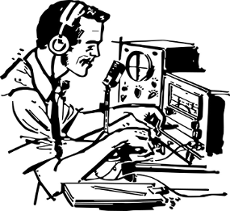 ham radio drawing
